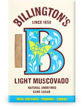 BILLINGTONS Light Muscovado Zucker 500g