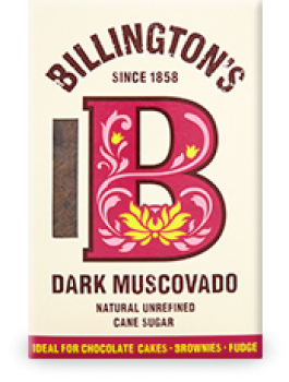 BILLINGTONS Dark Muscovado Zucker 500g