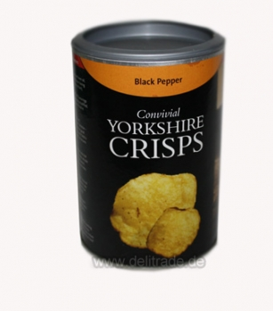 YORKSHIRE CRISPS Handgemachte Chips Black Pepper 100g