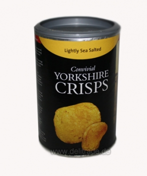 YORKSHIRE CRISPS Handgemachte Chips Lightly Sea Salted 100g