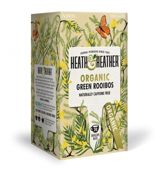 HEATH & HEATHER Bio Grüner Rooibos Tee (20 Btl.) 30g