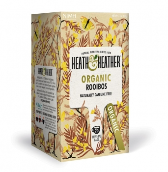 HEATH & HEATHER Bio Rooibos Tee (20 Btl.) 30g