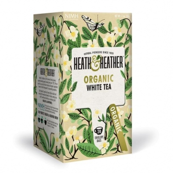 HEATH & HEATHER Bio Weisser Tee (20 Btl.) 30g