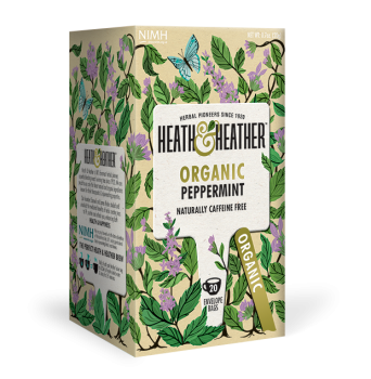 HEATH & HEATHER Bio Pfefferminz Tee (20 Beutel) 20g