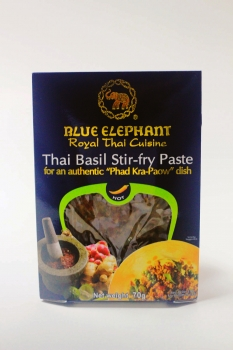 BLUE ELEPHANT Thai Basilikum Wok Paste 70g
