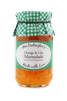 MRS DARLINGTON Orange & Gin Marmalade 340g