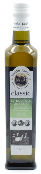 LYRAKIS Natives Olivenöl extra classic 500ml