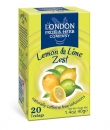 LONDON FRUIT & HERB Co. Lemon & Lime Zest (20 Btl.) 40g